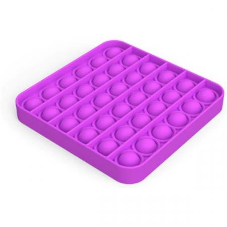 Jucărie senzorială POP IT culoare mov, formă pătrată [1]