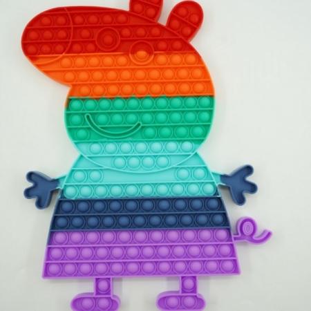 Jucărie senzorială POP IT mare multicolor PEPPA PIG [0]