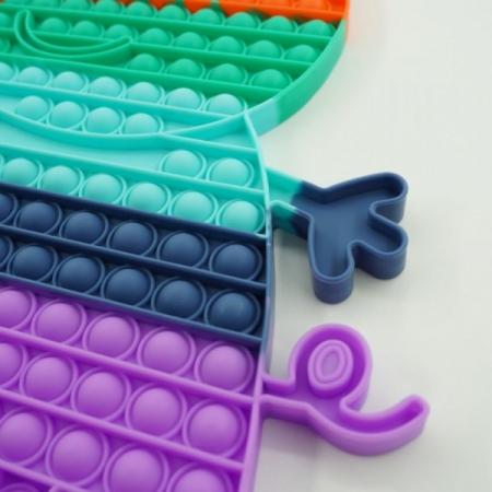 Jucărie senzorială POP IT mare multicolor PEPPA PIG [1]