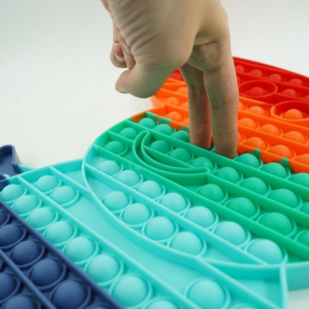 Jucărie senzorială POP IT mare multicolor PEPPA PIG [2]