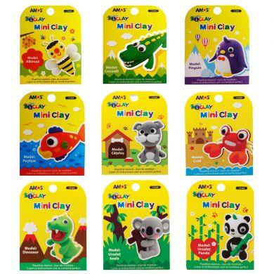 Plastilină elastică Mini Clay ICLAY AMOS - PEŞTIŞOR 30 gr/cutie [2]