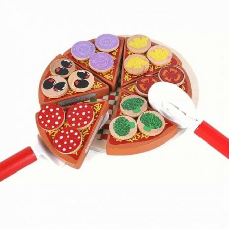 Jucărie tip Montessori din lemn FELIAZĂ PIZZA [0]
