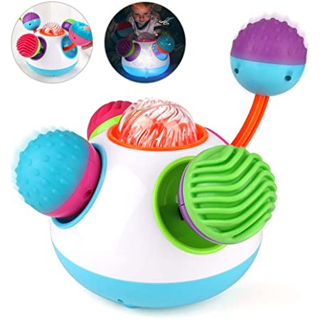 Jucărie senzorială sferică cu lumini şi sunete [1]