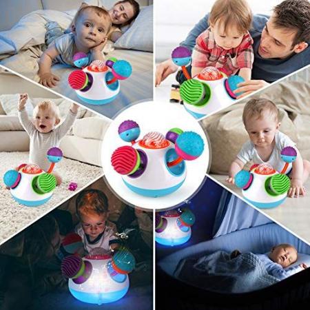 Jucărie senzorială sferică cu lumini şi sunete [2]