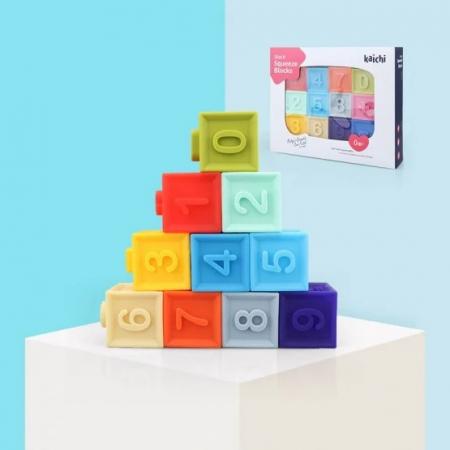 Cuburi moi bebeluși - Stack Squeeze blocks Kaichi [0]
