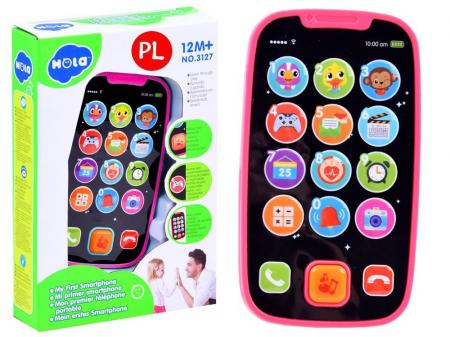 Primul meu smartphone HOLA roz [0]