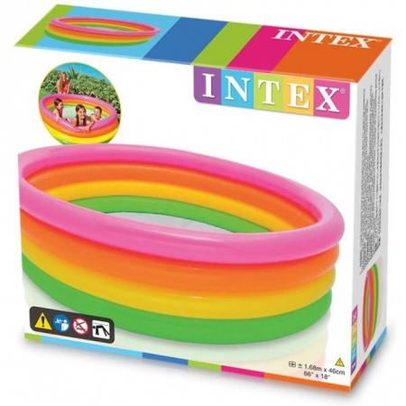 Piscină gonflabilă pentru copii INTEX Sunset Glow 168 cm x 46 cm [3]
