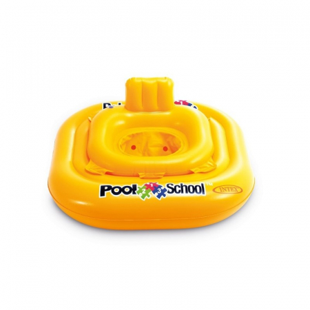 Colac gonflabil Intex Pool School Deluxe Baby Float 79 cm x 79 cm - 11-15 kg/ 1-2 ani [0]