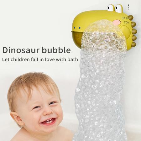 Jucărie de făcut baloane de săpun pentru baie cu sunete design crocodil verde [0]