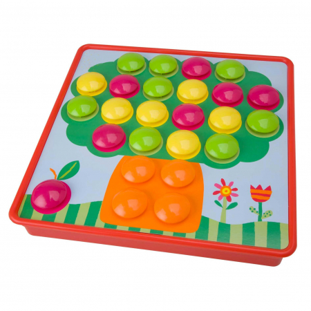 Joc creativ mozaic cu butoni Button Idea [2]