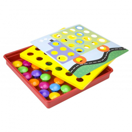 Joc creativ mozaic cu butoni Button Idea [3]