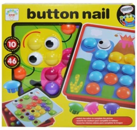 Joc creativ mozaic cu butoni Button Idea [0]