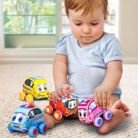 Set 4 mașinuțe din material textil [1]