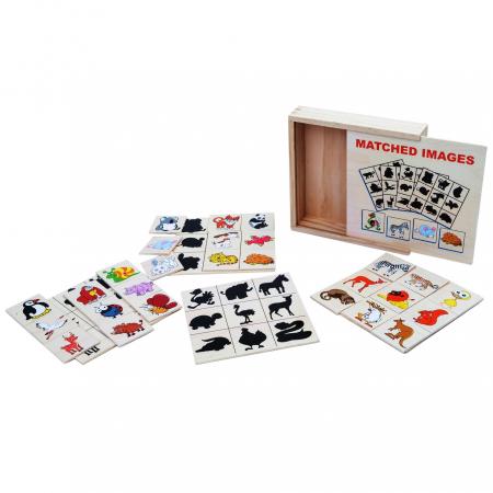 Jocul umbrelor - joc de asociere de tip Montessori - Animale [0]