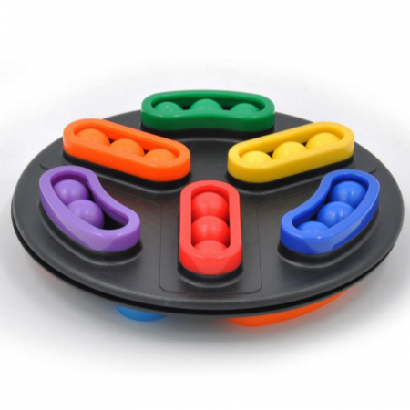 Joc de logică disc rotativ cu 2 fețe - Rotating disk [1]