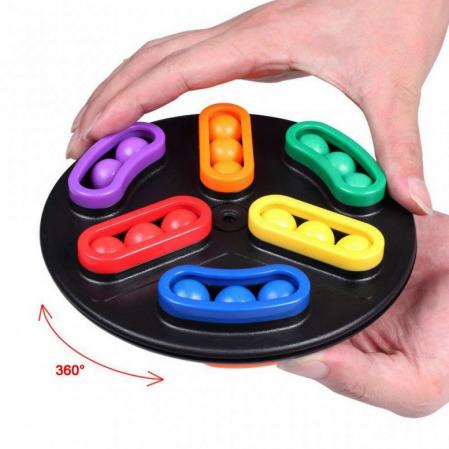 Joc de logică disc rotativ cu 2 fețe - Rotating disk [3]
