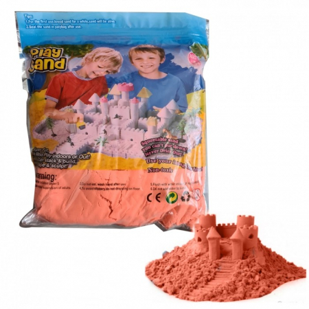 Rezervă nisip kinetic portocaliu - Play sand 1 kg [0]