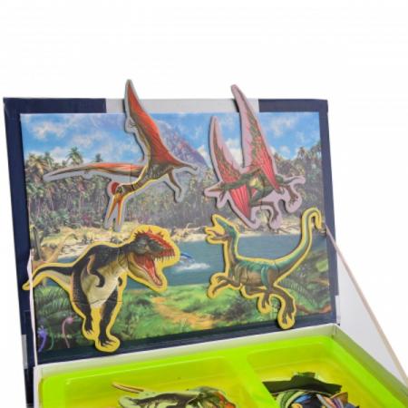 Carte magnetică puzzle Dinozauri [4]