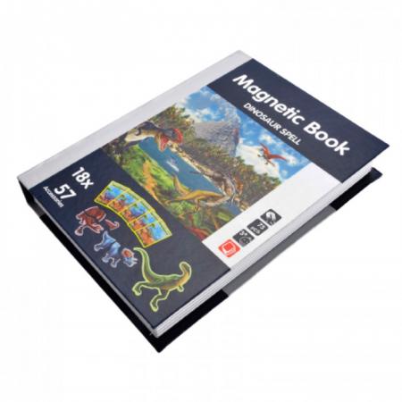Carte magnetică puzzle Dinozauri [5]