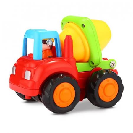 Set mașinuțe utilaje de construcții și munci agricole Hola [4]