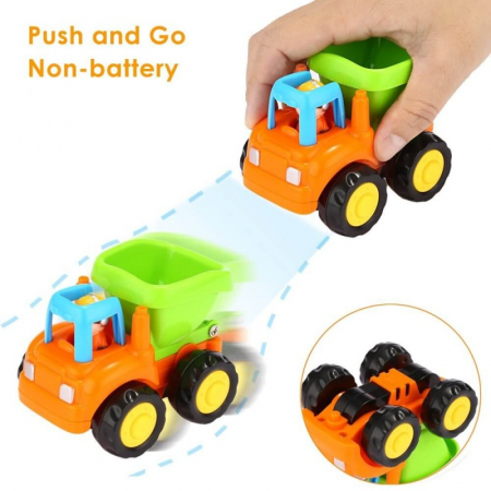 Set mașinuțe utilaje de construcții și munci agricole Hola [7]