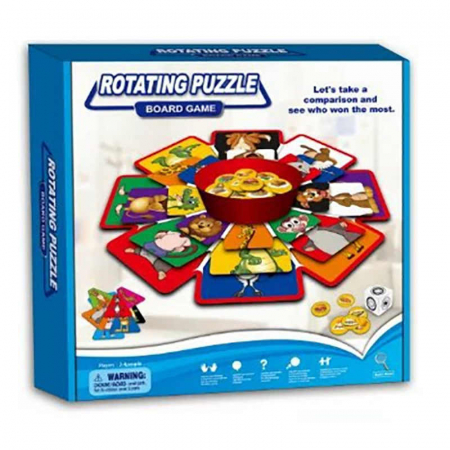 ROTATING PUZZLE Board Game [0]