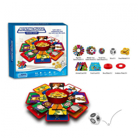 ROTATING PUZZLE Board Game [1]