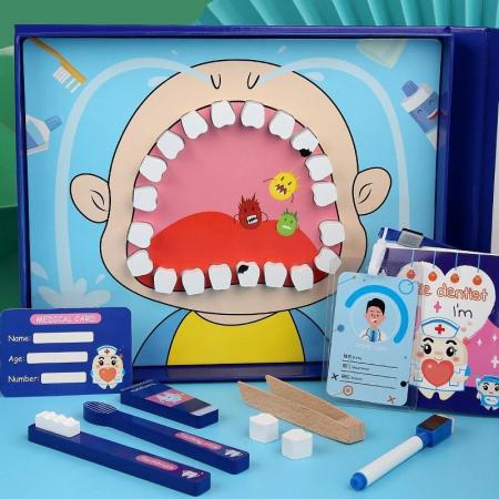 Joc de rol tip carte magnetică Micul dentist - Little Dentist [3]