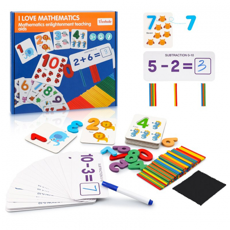 Joc de asociere și matematică I LOVE MATHEMATICS [1]