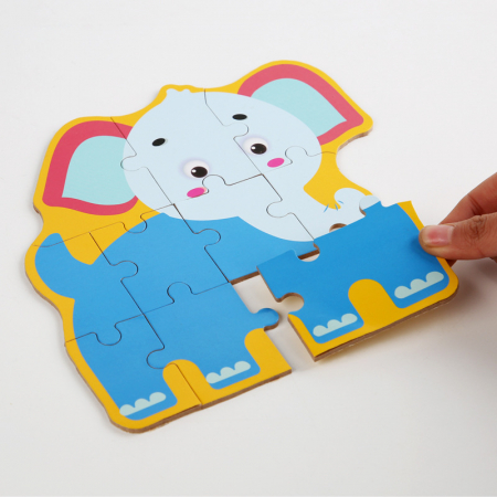 Puzzle animale sălbatice 44 piese - Animal Puzzle [3]