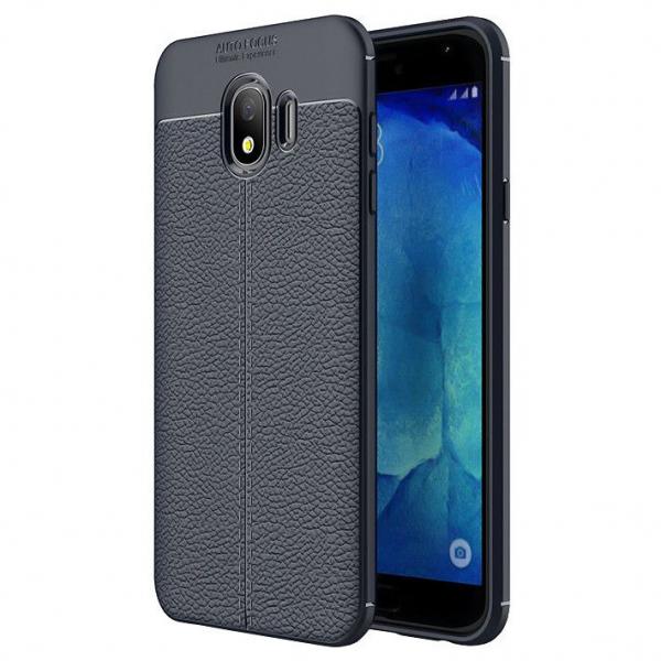 Husa Samsung Galaxy J4 Plus 2018 Silicon TPU Colorat Negru-Autofocus Black 0
