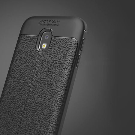 Husa Samsung Galaxy J7 2017 Silicon TPU Colorat Negru-Autofocus Black 2