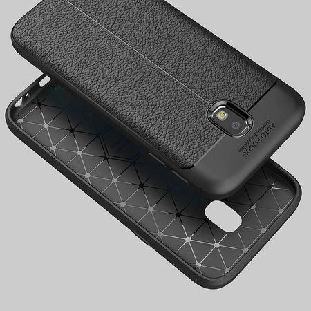 Husa Samsung Galaxy J7 2017 Silicon TPU Colorat Negru-Autofocus Black 3