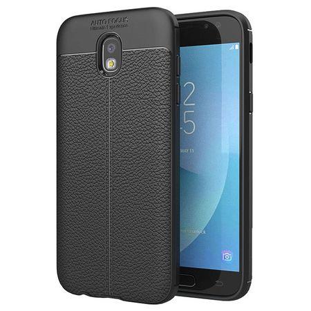 Husa Samsung Galaxy J7 2017 Silicon TPU Colorat Negru-Autofocus Black 0