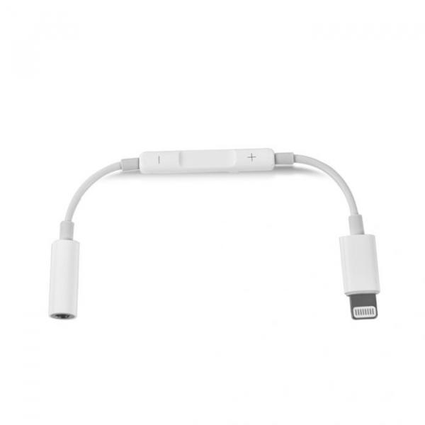 Adaptor Audio Lightning - Jack 3.5 mm Apple Apple iPad 4 Alb Blister 3