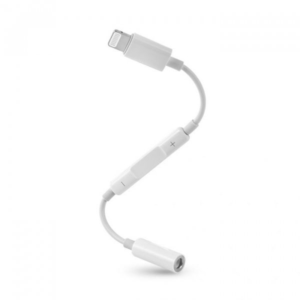 Adaptor Audio Lightning - Jack 3.5 mm Apple Apple iPad 4 Alb Blister 2