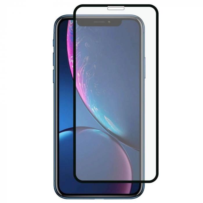 Folie Apple iPhone XR Full Glue Neagra 0