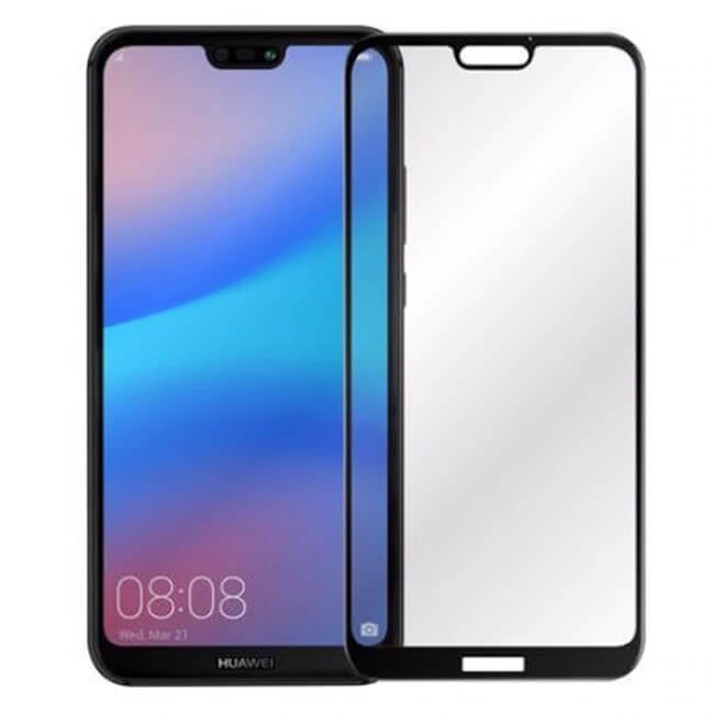 Folie Huawei P20 Lite 2018 Full Glue Neagra 0
