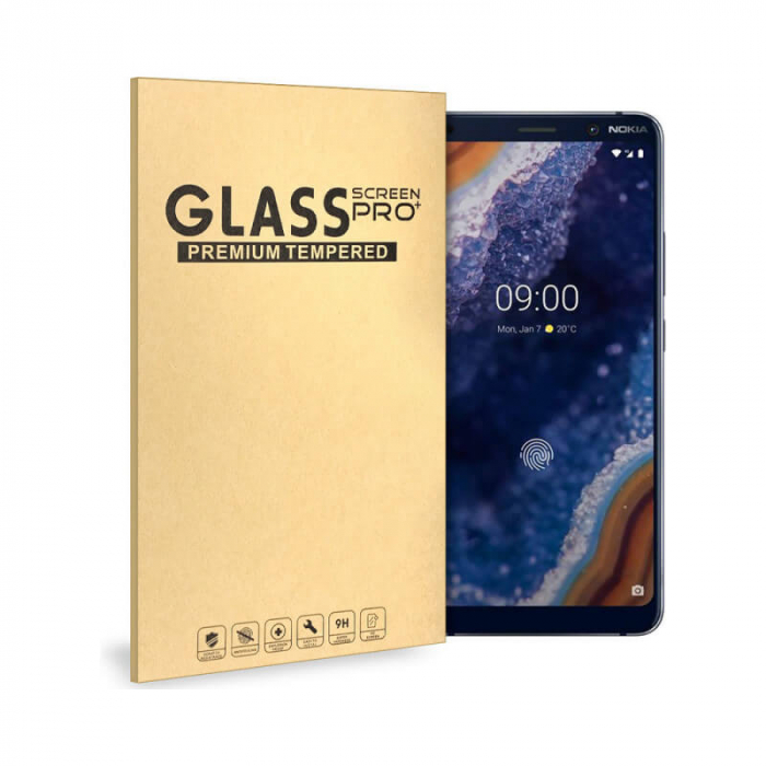 Folie Huawei P40 Lite 9H Full Glue 3D Neagra [0]