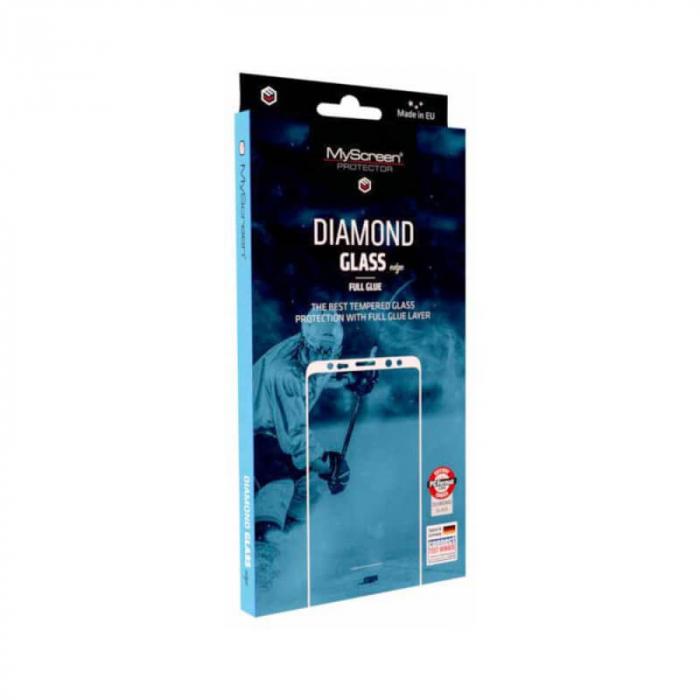 Folie iPhone 12 Full Glue Neagra Diamond [0]