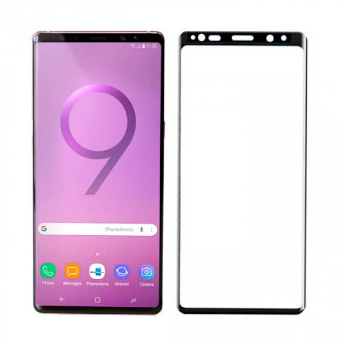 Folie Samsung Galaxy Note 9 2018 Full Glue Neagra 0