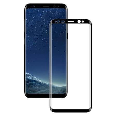 Folie Samsung Galaxy S8 Plus 2017 Full Glue Neagra 0