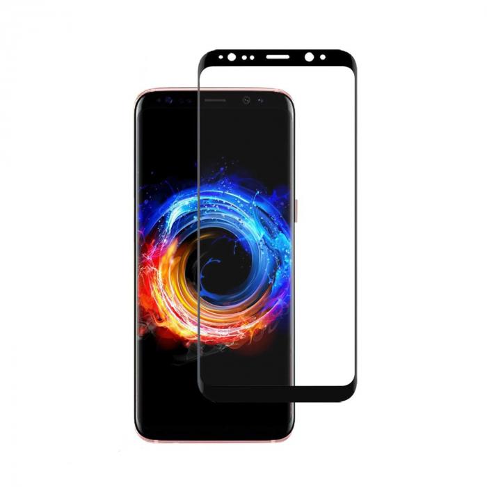Folie Samsung Galaxy S9 Plus 2018 Full Glue Neagra 0