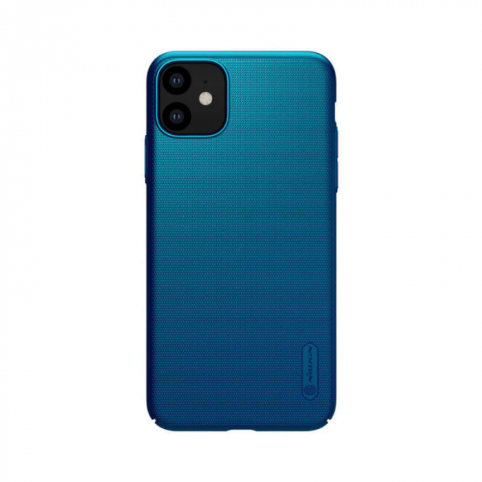 Husa Silicon iPhone 11 Albastru Nillkin Frosted 0