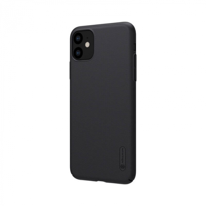 Husa Silicon iPhone 11 Negru Nillkin Frosted [2]