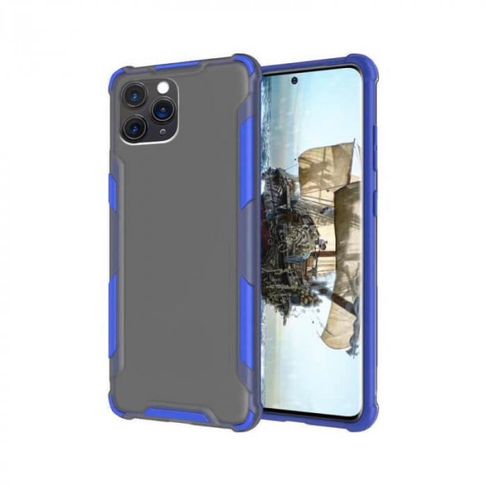 Husa Apple iPhone 11 Pro Silicon Antisoc Albastru Atlas [0]