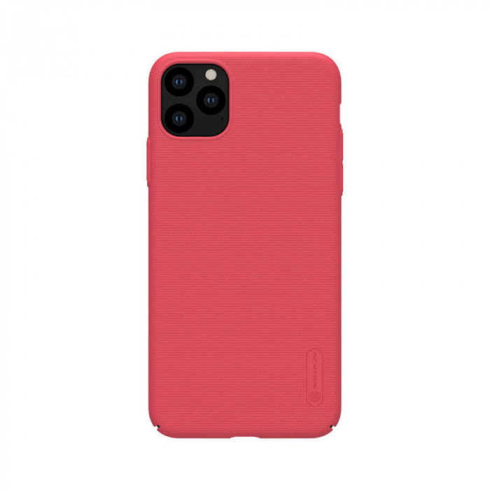 Husa Silicon iPhone 11Pro Max Rosu Nillkin Frosted 0