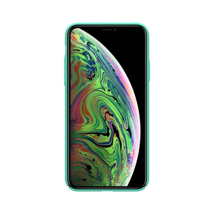 Husa Apple iPhone 11 Pro Turcoaz Nillkin Frosted 1