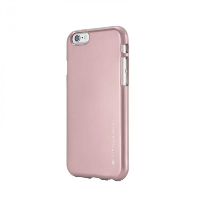 Husa Apple iPhone 11 Rosegold Jelly Metal 0