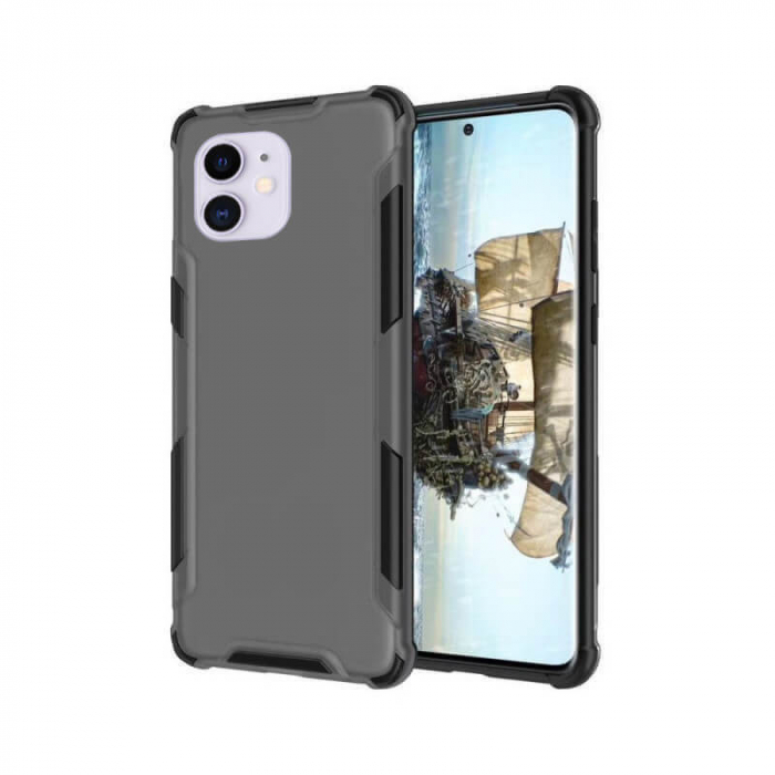 Husa Apple iPhone 12 Mini Antisoc Negru [0]